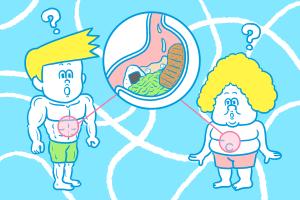 同じ摂取カロリーで太る人とスリムな人がいる現実…その理由とは?のアイキャッチ