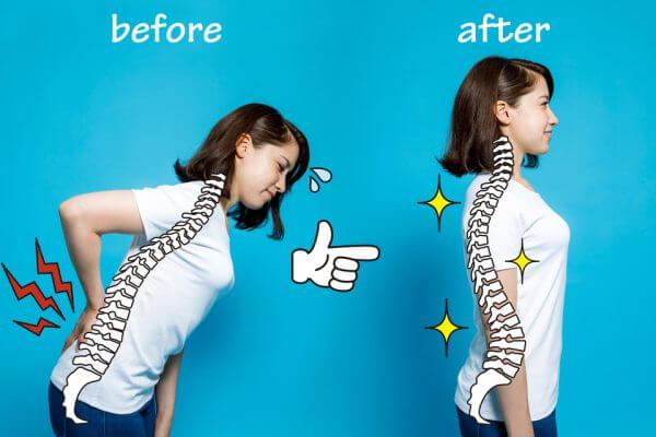 正しい姿勢で代謝UP!痩せ体質への第一歩のアイキャッチ