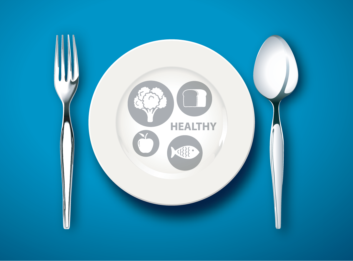 日々の食事バランスを簡単に管理できる「マイプレート」という考え方のアイキャッチ